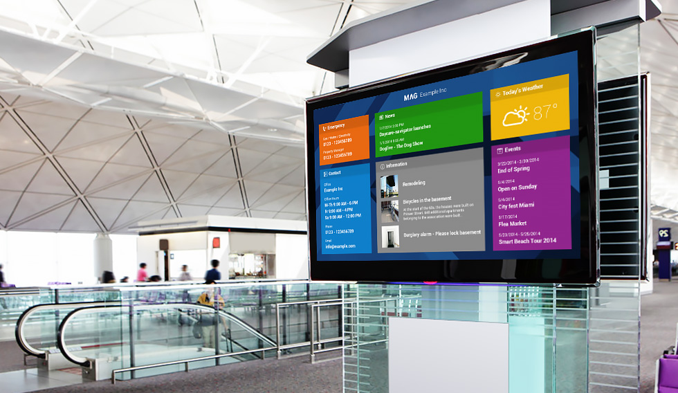cloud based digital signage